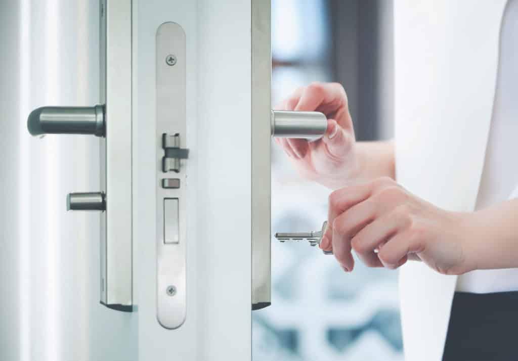 Composite Door Lock